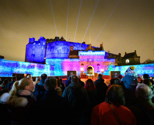 Castle of Light, Large Scale Projections
